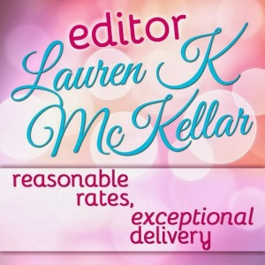 Lauren K McKellar - button ad copy