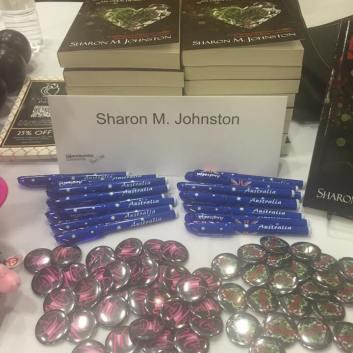Giant Book Fair Author Table